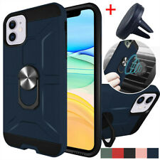 For iPhone 11/11 Pro/11 Pro Max Phone Case Ring Stand Cover/ Car Air Vent Mount