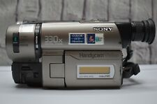 Sony Handycam CCD TRV43 Hi-8 Tape Video Camera 18X Zoom Color LCD Monitor