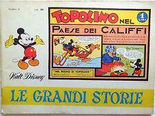 LE GRANDI STORIE N.2 1967 PAESE DEI CALIFFI NEL REGNO DI TOPOLINO