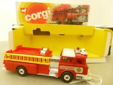 Corgi Toys American Mack Fire Pumper Fire Engine - Corgi Toys Emergency Vehicles