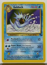 Golduck 35/62 - NM / M - Fossil Set Pokemon Card - $1 Combined Shipping