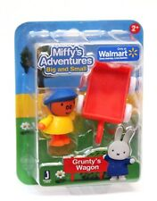 Miffy's Adventures Big & Small GRUNTY'S WAGON Mini Figure Set New Jazwares 12953