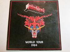 JUDAS PRIEST DEFENDERS OF THE FAITH 1984 LP/CD ERA WORLD TOUR BOOK PROGRAM RARE