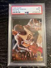 1995 Fleer Total D #3 Michael Jordan PSA MINT 9