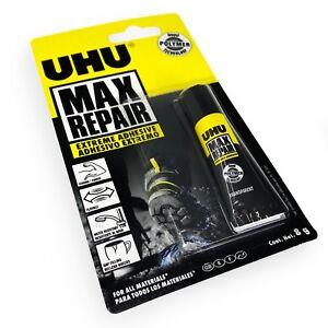 UHU Max Repair Transparent Extreme Adhesive Glue - 8g Tube - BUY 3 GET 1 FREE