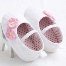NEW Handmade Baby Girl Cable Knit Pre-walker Pram Shoes 3-6-12-18 months