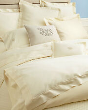 Ralph Lauren Wyatt Hollywood Cream King Quilted Coverlet $400