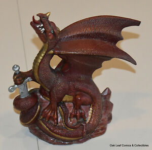 "8"" Doc Holliday Molds Vintage DHM Copper Dragon 1999 Ceramic"