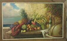 Large Sumptuous Still Life Painting by Jacques Callaert, Belgian Artist Signed