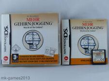 Dr. Kawashimas Mehr Gehirn Jogging für Nintendo DS/Lite/XL/3DS - OVP+Anl.