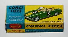 Reprobox Corgi Toys Nr. 319 - Lotus Elan Coupé