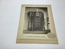 Original Stromberg Carlson Deco Radio Paper 255 L Console