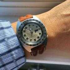 Vintage Elgin Men's 41 mm Jumbo Diving with rotating functional bezel automatic