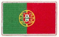 Fahnenaufnäher Flaggen Aufnäher Portugal 6,5x4cm mit Bügelrückseite