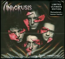 Anacrusis Manic Impressions Ultimate Edition CD new