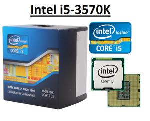 Intel Core i5-3570K SR0PM ''Ivy Bridge'' 4 Core,LGA1155, Clock 3.4 - 3.8GHz CPU