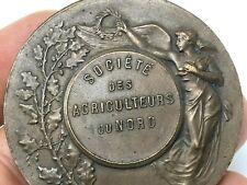 Médaille Bronze & Lagrange & Société des Agriculteurs du Nord & FRANCE