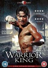 WARRIOR KING Prachya Pinkaew*Tony Jaa*Nathan Jones Martial Arts 2 Disc DVD *MINT