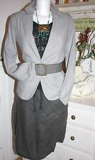 Noa noa chaqueta blazer casual Cool Frost Grey size: XL nuevo