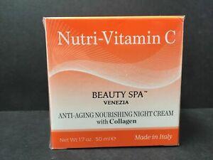 nutri-vitamin c beauti spa venezia night cream with collagen