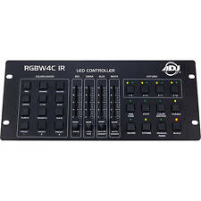 American DJ RGBW 4 C IR 32 canali DMX LED Controller-controllo fino a 8 Apparecchi