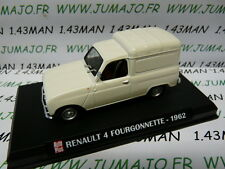 voiture 1/43 AUTO PLUS norev : RENAULT  4 F fourgonette 1962
