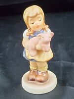 """1998 Goebel Hummel #2052 """"Pigtails"""" 3 3/8 inch Germany Exclusive Edition w/ box"""