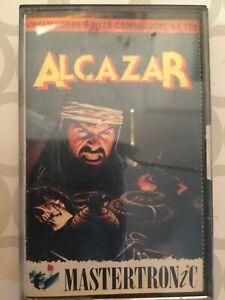 Commodore games - 'Alcazar' (Mastertronic')