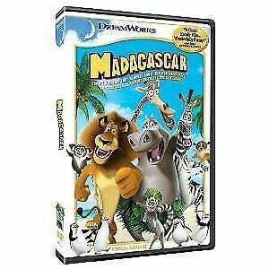 Like New WS DVD Madagascar Chris Rock Ben Stiller David Schwimmer Jada Pinkett