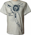 Airplane and Locomotive T-shirts