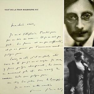 🌓 PAUL GERALDY réécrit une scène de ROBERT ET MARIANNE pour BERTHE CERNY 1925