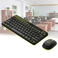 MK240 Nano Gamer Combo 2.4G Wireless Keyboard Spill-proof for Computer PC +Mouse