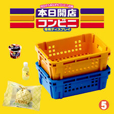 Rare! Re-ment Miniature Convenience Store Opened Today No.5 Plastic Baskets