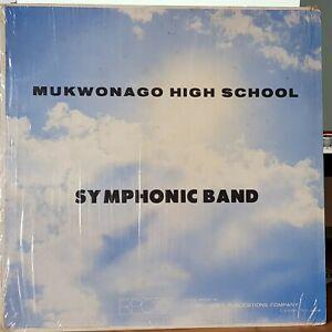 Mukwonago High School 1979 Symphonic Band, Richard Underberg - LP record + CD-R