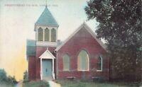 Postcard Presbyterian Church in Lowell, Indiana~129212