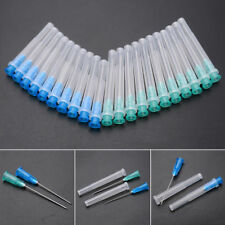 "10Pcs 1.25"" Blue 23G Needles + 10pcs 1.5"" 21G Green Terumo Agani Injection Kit"