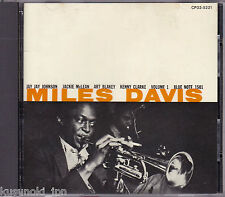 MILES DAVIS Vol.1 CD JAPAN (1986) CP32-5221 Blue Note