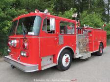 Seagrave Hb-50Dd S/A Emergency Pumper Fire Truck 8V71 Detroit Diesel A/T bidadoo