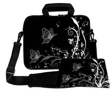 LUXBURG 15,6 Inch Design Laptop Notebook Shoulder Bag with Matching Mousepad #EQ