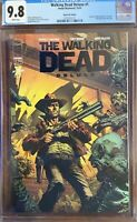 Walking Dead Deluxe #1 - Black Foil Variant - CGC 9.8 - Only 200 Made.