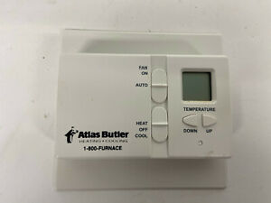 LUX Digital Thermostat non programmable DMH100 AC heat simple setup and use