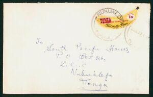 Mayfairstamps Tonga 1970 Banana Stamp Nukualofa Commercial cover wwo1589