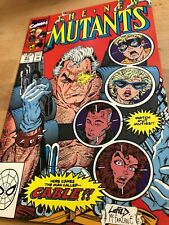 New Mutant # 87 First Printing Marve l Comic Book 1990 1st full appearance of Ca