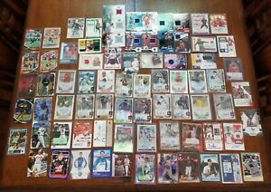 Huge Lot of 77 SPORTS Cards, ALL AUTOs, MEMORABILIA, or #'d - MANY ROOKIES 🔥🔥
