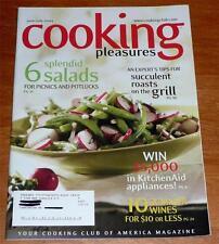 Cooking Pleasures Magazine June/July 2004 Greek Cuisine / Pnd Cakes / Key Lime +