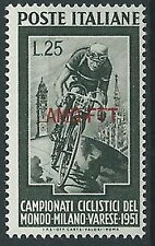 1951 TRIESTE A CICLISMO MNH ** - ED117