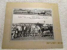 1963 Horse Racing Photo Cranwood Park Ohio Fingers Crossed Jockey Joe Lopez