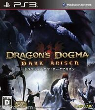 Used PS3  Dragons Dogma SONY PLAYSTATION 3 JAPAN JAPANESE IMPORT