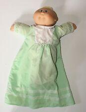 Cabbage Patch Kid Preemie Doll Coleco Vintage Lemon Blonde Loop Hair Blue Eyes