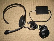 SONY PLAYSTATION 2 3 PS2 e PS3 UFFICIALE USB HEADSET MICROFONO-wired logitech